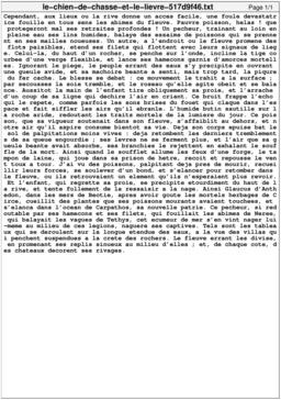 Le chien de chasse et le lièvre. Source : http://data.abuledu.org/URI/517d9f46-le-chien-de-chasse-et-le-lievre