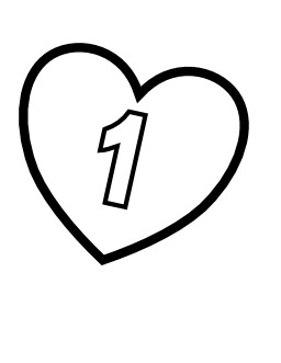 Le chiffre 1 dans un coeur. Source : http://data.abuledu.org/URI/53316492-le-chiffre-1-dans-un-coeur