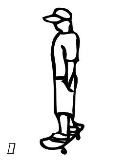Le chiffre 1 du skateur. Source : http://data.abuledu.org/URI/53467402-le-chiffre-1-du-skateur