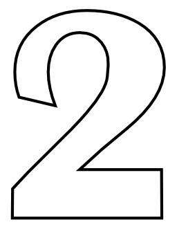 Le chiffre 2 à colorier. Source : http://data.abuledu.org/URI/53317133-le-chiffre-2-a-colorier