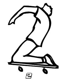 Le chiffre 2 du skateur. Source : http://data.abuledu.org/URI/53467519-le-chiffre-2-du-skateur