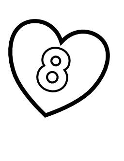 Le chiffre 8 dans un coeur. Source : http://data.abuledu.org/URI/533166f1-le-chiffre-8-dans-un-coeur