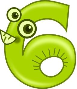 Chiffre six. Source : http://data.abuledu.org/URI/50f2e2ed-le-chiffre-six