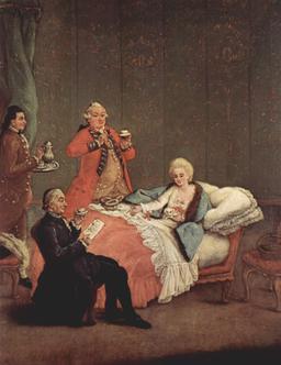 Le chocolat des aristocrates. Source : http://data.abuledu.org/URI/51987879-le-chocolat-des-aristocrates