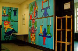 Le cirque, à la manière de Keith Haring. Source : http://data.abuledu.org/URI/53898780-le-cirque-a-la-maniere-de-keith-haring