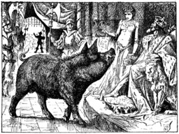 Le cochon enchanté. Source : http://data.abuledu.org/URI/51fe6b48-le-cochon-enchante