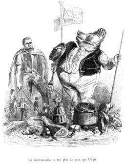 Le cochon et la gourmandise. Source : http://data.abuledu.org/URI/534ed5e1-le-cochon-et-la-gourmandise