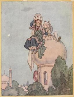Le coffre volant d'Andersen. Source : http://data.abuledu.org/URI/54af1038-le-coffre-volant-d-andersen
