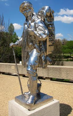 Le colporteur de Jeff Koons. Source : http://data.abuledu.org/URI/541459ff-le-colporteur-de-jeff-koons