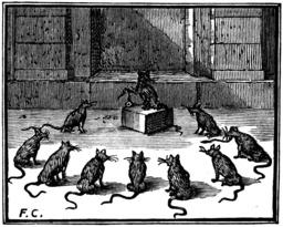Le conseil des rats. Source : http://data.abuledu.org/URI/510bcbf7-le-conseil-des-rats