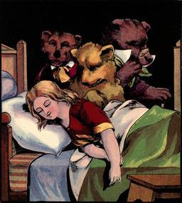 Le conte anglais des trois ours en 1888, p. 14. Source : http://data.abuledu.org/URI/5348783f-le-conte-anglais-des-trois-ours-en-1888-p-14