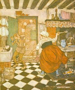 Le conte de l'âne, la table et le bâton. Source : http://data.abuledu.org/URI/50e4ccbc-le-conte-de-l-ane-la-table-et-le-baton