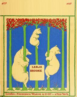 Le conte des trois ours en 1900, couverture. Source : http://data.abuledu.org/URI/53483a16-le-conte-des-trois-ours-en-1900-couverture