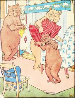 Le conte des trois ours en 1900, p. 20. Source : http://data.abuledu.org/URI/53485fe3-le-conte-des-trois-ours-en-1900-p-20