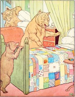 Le conte des trois ours en 1900, p. 23. Source : http://data.abuledu.org/URI/534860d2-le-conte-des-trois-ours-en-1900-p-23