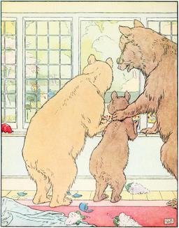 Le conte des trois ours en 1900, p.26. Source : http://data.abuledu.org/URI/534861e1-le-conte-des-trois-ours-en-1900-p-26
