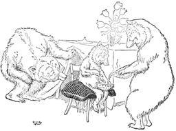 Le conte des trois ours en 1900, p.21. Source : http://data.abuledu.org/URI/534866a0-le-conte-des-trois-ours-en-1900-p-21