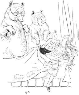 Le conte des trois ours en 1900, p. 25. Source : http://data.abuledu.org/URI/534869fc-le-conte-des-trois-ours-en-1900-p-25