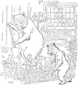 Le conte des trois ours en 1900, p. 08. Source : http://data.abuledu.org/URI/5348728d-le-conte-des-trois-ours-en-1900-p-08