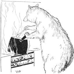 Le conte des trois ours en 1900, p. 09. Source : http://data.abuledu.org/URI/534873fd-le-conte-des-trois-ours-en-1900-p-09