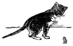 Le conte du chat et de la souris. Source : http://data.abuledu.org/URI/5081652b-le-conte-du-chat-et-de-la-souris