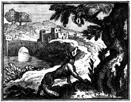 Le coq et le renard. Source : http://data.abuledu.org/URI/510bcf30-le-coq-et-le-renard