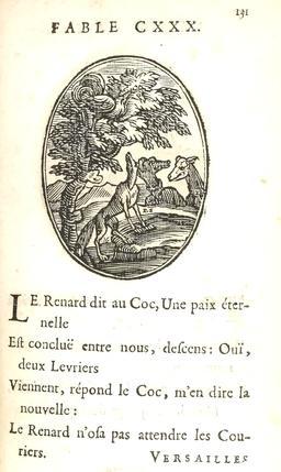 Le coq et le renard. Source : http://data.abuledu.org/URI/5916bc9b-le-coq-et-le-renard