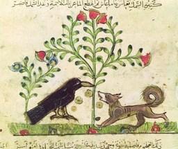 Le corbeau et le renard. Source : http://data.abuledu.org/URI/47f616c3-le-corbeau-et-le-renard