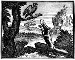 Le corbeau et le renard. Source : http://data.abuledu.org/URI/510bcfc5-le-corbeau-et-le-renard