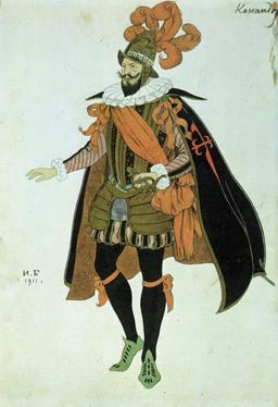 Le costume du Commandeur de Lope de Vega. Source : http://data.abuledu.org/URI/52bc0cc7-le-costume-du-commandeur-de-lope-de-vega