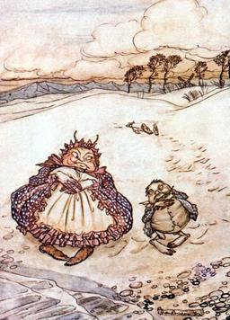 Le crabe et sa mère. Source : http://data.abuledu.org/URI/517d195d-le-crabe-et-sa-mere