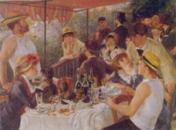 Le Déjeuner des canotiers. Source : http://data.abuledu.org/URI/50fc8cfd-le-dejeuner-des-canotiers