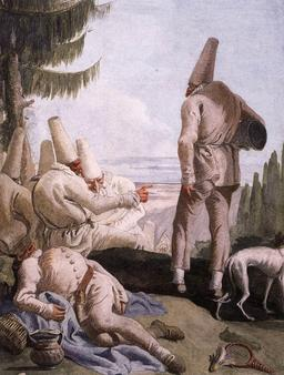 Le départ de Pulcinella. Source : http://data.abuledu.org/URI/51c0e957-le-depart-de-pulcinella