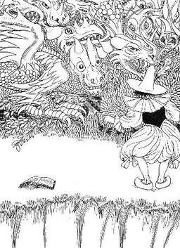 Le Dragon à plusieurs têtes et le Dragon à plusieurs queues. Source : http://data.abuledu.org/URI/519bd4d4-le-dragon-a-plusieurs-tetes-et-le-dragon-a-plusieurs-queues