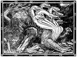 Le dragon à sept têtes. Source : http://data.abuledu.org/URI/50d353f4-le-dragon-a-sept-tetes