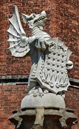 Le dragon de la reine d'Angleterre. Source : http://data.abuledu.org/URI/50ebbe9a-le-dragon-de-la-reine-d-angleterre