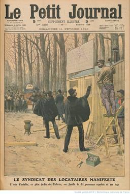 Le droit au logement en 1912. Source : http://data.abuledu.org/URI/51fc1c50-le-droit-au-logement-en-1912