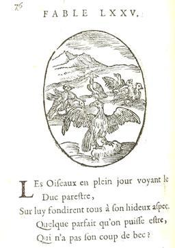 Le duc et les oiseaux. Source : http://data.abuledu.org/URI/5916b916-le-duc-et-les-oiseaux
