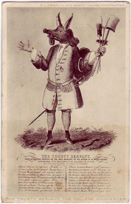 Le fidèle serviteur de Winchester. Source : http://data.abuledu.org/URI/5100fd37-le-fidele-serviteur-de-winchester