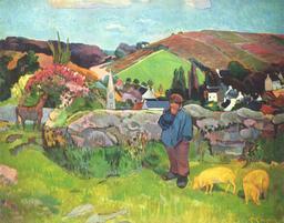 Le gardien de porcs en 1888. Source : http://data.abuledu.org/URI/534edeca-le-gardien-de-porcs-en-1888
