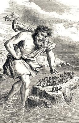 Le géant Suttung et les nains. Source : http://data.abuledu.org/URI/51993e3c-le-geant-suttung-et-les-nains