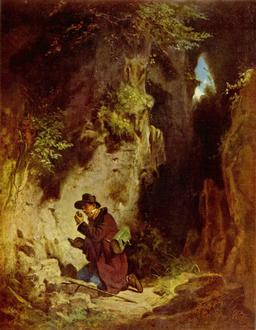 Le géologue sur le terrain en 1860. Source : http://data.abuledu.org/URI/55472cea-le-geologue-sur-le-terrain-en-1860