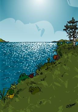 Le grand voyage de Goutte d'eau - 01. Source : http://data.abuledu.org/URI/568b651d-le-grand-voyage-de-goutte-d-eau-01