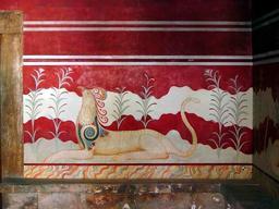 Le griffon de Knossos. Source : http://data.abuledu.org/URI/51a8dc7f-le-griffon-de-knossos
