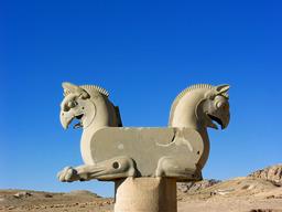Le griffon double de Persépolis. Source : http://data.abuledu.org/URI/51a8da02-le-griffon-double-de-persepolis