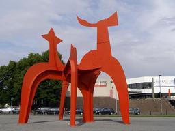 Le Halebardier de Calder à Hanovre. Source : http://data.abuledu.org/URI/541e89b6-le-halebardier-de-calder-a-hanovre