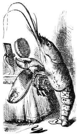 Le homard d'Alice. Source : http://data.abuledu.org/URI/517fdbef-le-homard-d-alice