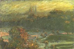 Le Jardin des Tuileries en 1875. Source : http://data.abuledu.org/URI/596bf3ad-le-jardin-des-tuileries-en-1875