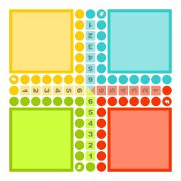 Le jeu des Petits Chevaux. Source : http://data.abuledu.org/URI/50eaba98-le-jeu-des-petits-chevaux