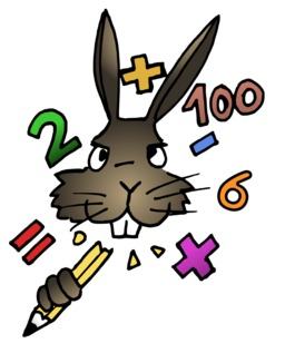 Le lapin calculateur du terrier d'Abulédu. Source : http://data.abuledu.org/URI/58782404-le-lapin-calculateur-du-terrier-d-abuledu